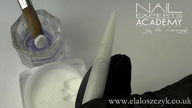 correct mix ratio of clear acrylic powder