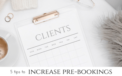 5 tips to increase pre-bookings in your business