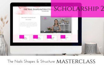 the nail shapes and structure masterclass scholarship 2019