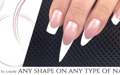 how to create any shape on any type of nail